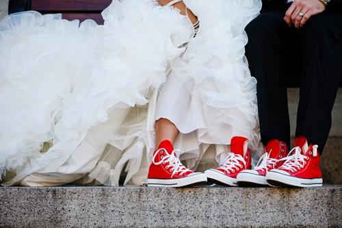 Blog ślubny Perfect Wedding. Panna Młoda w trampkach