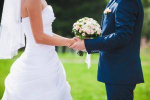 fragment like photo of beautiful wedding ceremony