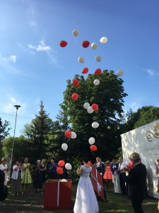 Balony z helem. blog perfect wedding